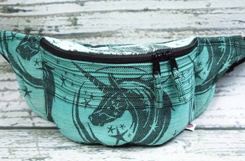 My Little Unicorn Magnolia Turquoise / Fanny Pack