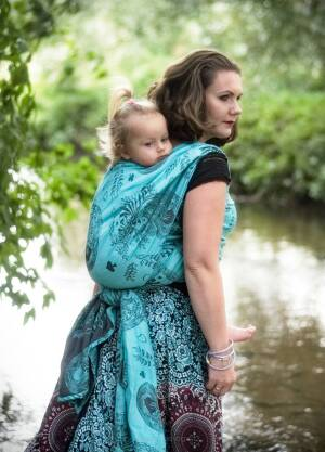 Baby Wrap Size M Alice in Wonderland