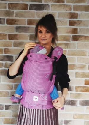 Freely Grow happy Butterfly Rose Sensimo Slings baby carrier