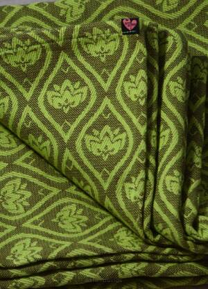Jacquard Baby Wrap   Lotus Forest   s.6