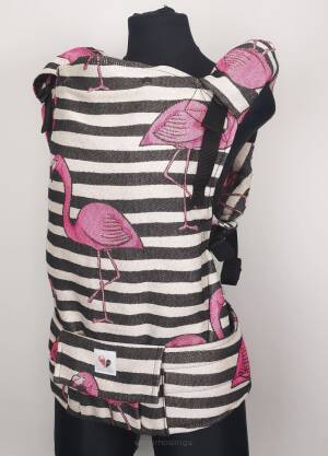 Freely Grow Flamingos Rich sensimo sling baby carrier
