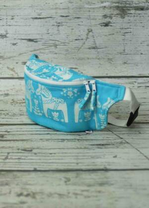Baby Horses Turquoise / Fanny Pack