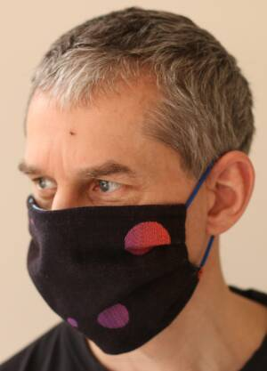 Cotton street mask. Protective mask. Men's size.