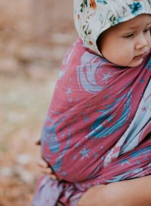 Jacquard Baby wrap  My little Unicorn  Madeleine  r/s