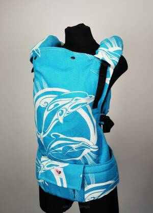Freely Grow Dolphins Ocean sensimo slings baby carrier