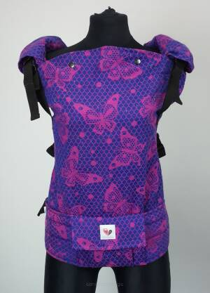 Freely Grow Lace Love sensimo slings baby carrier