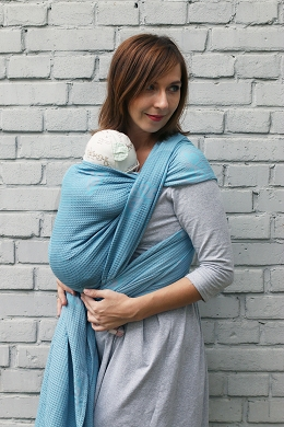 Jacquard baby wrap. M. Happy Butterfly Turkisa