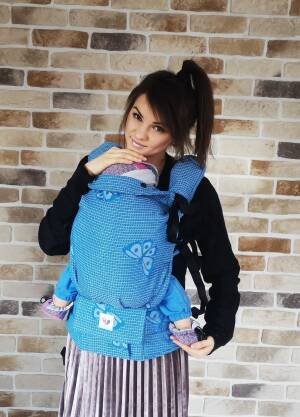 Freely Grow happy Butterfly Sky Sensimo Slings baby carrier