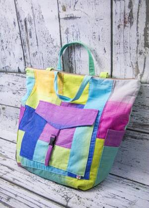 Rainbow Mummy Bag