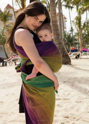 Baby Wrap XS Summer Kiss Intense